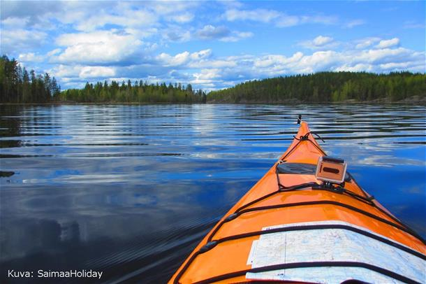 Kayak adventure in Saimaa -from Kolovesi to Oravi