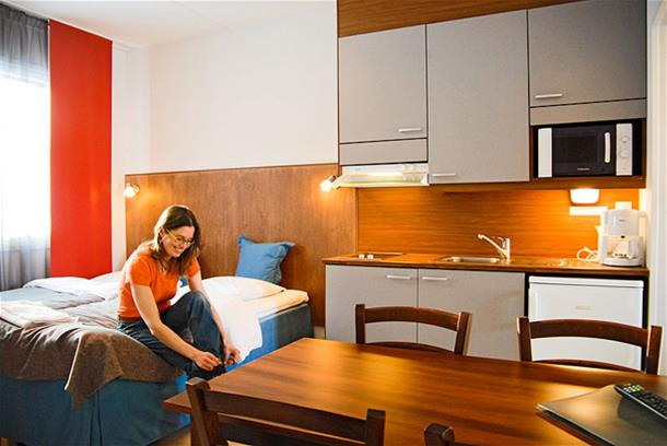 Oravi Apartment 4 person room