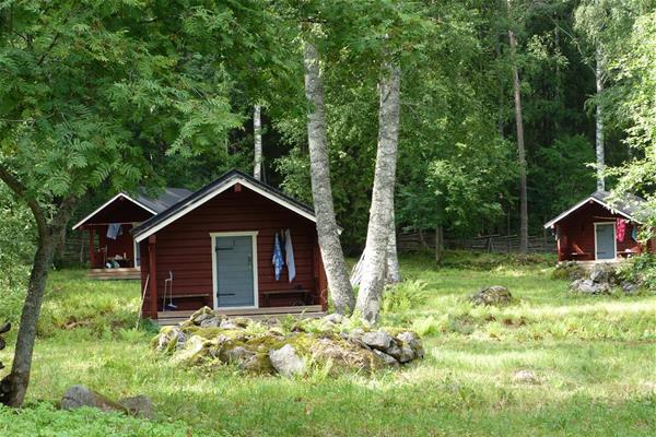 Hut on Linnansaari island